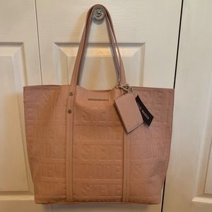 NWT Steve Madden Blush pink Tote, pouch & Wallet